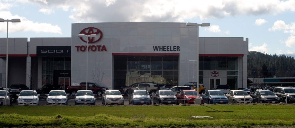 Wheeler Toyota commercial project